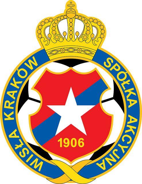 Wisła Kraków Spółka Akcyjna (Wisła Kraków) | Country: Polska / Poland. País: Polonia. | Founded/Fundado: 1906/05 | Badge/Crest/Logo/Escudo.