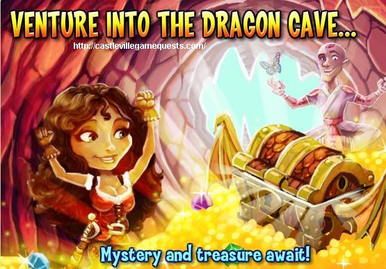 Castleville Game Abandoned Dragon Cave Quests Guide