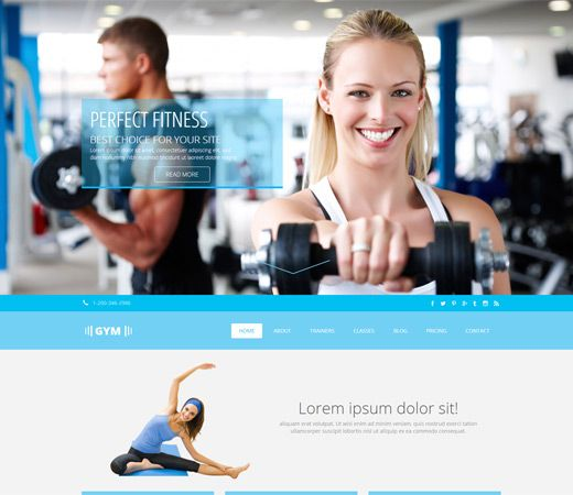 Gym a Flat Sports Bootstrap Responsive Web Template