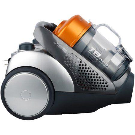 electrolux access t8 bagless compact canister vacuum el4071a silver - Electrolux Canister Vacuum
