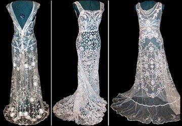 Винтажное готическое платье