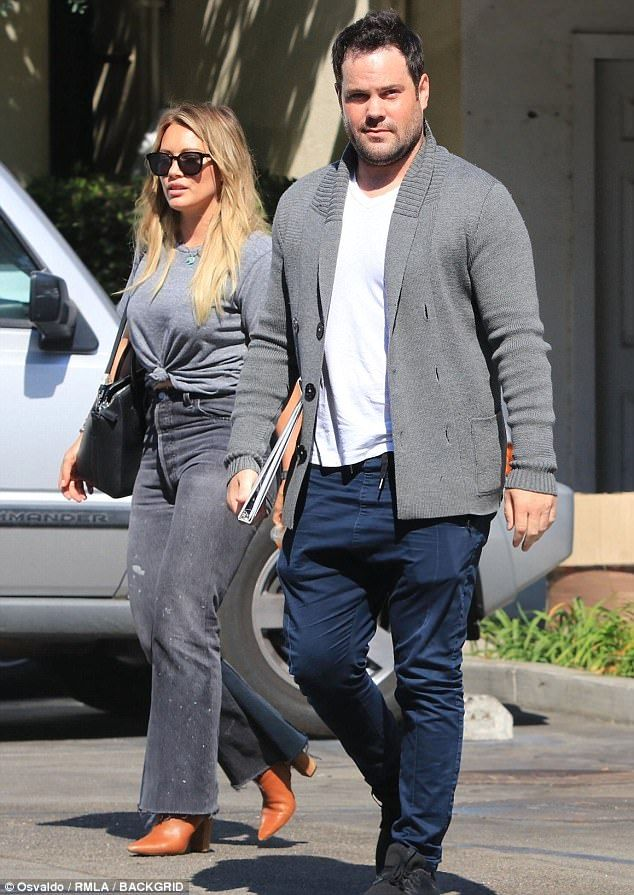 Hilary Duff and Mike Comrie grab lunch together | Daily Mail Online