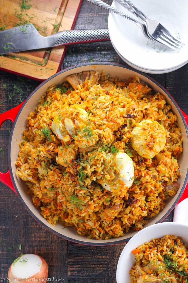 Russian Plov...A One Pot Chicken and Rice Recipe