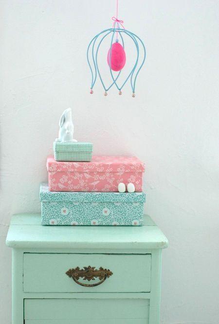 Mooie tinten voor Pien haar kamer