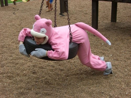 slowpoke costume