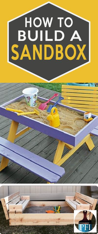 Learn from the best tutorials on how to build a sandbox this year! Sandboxes entertain kids for hours and invoke good old imagination skills. Get outside!
