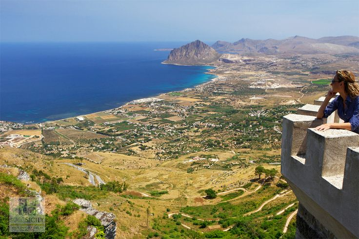Magical Erice is a dream-like town with views that will enchant you! #west #Sicily