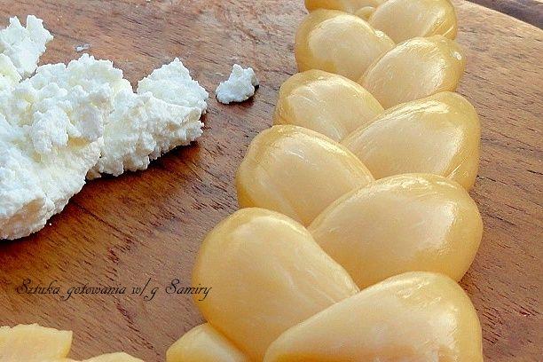 Domowy ser żólty wędzony