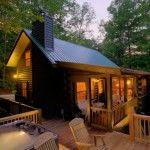 Georgia Cabin Rental - Cherry Lake Hideaway 1. morning breeze cabin rentals 888-875-5669