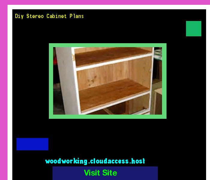 Diy Stereo Cabinet Plans 201726 Woodworking And Projects 16242903 Pinterest