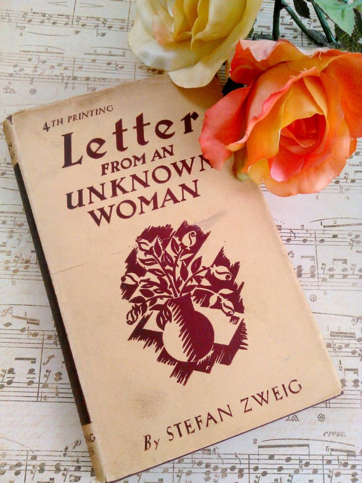 84 best stefan zweig 1881 1949 images on pinterest books bogo sale vintage book letter from a unknown woman by stefan zweig a mystery and love story fandeluxe Choice Image