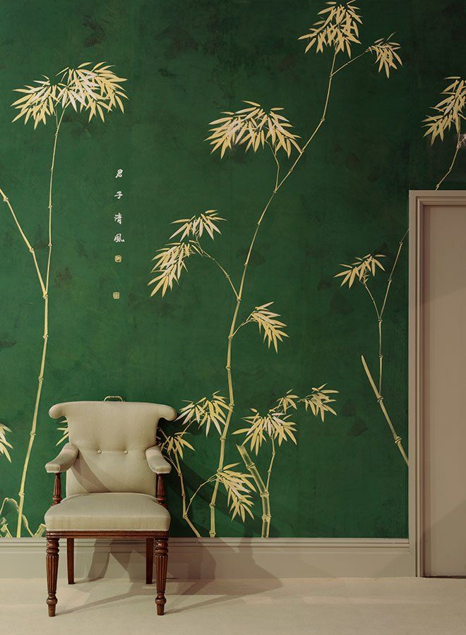 The 25 best bamboo wallpaper ideas on pinterest for Bamboo mural wallpaper