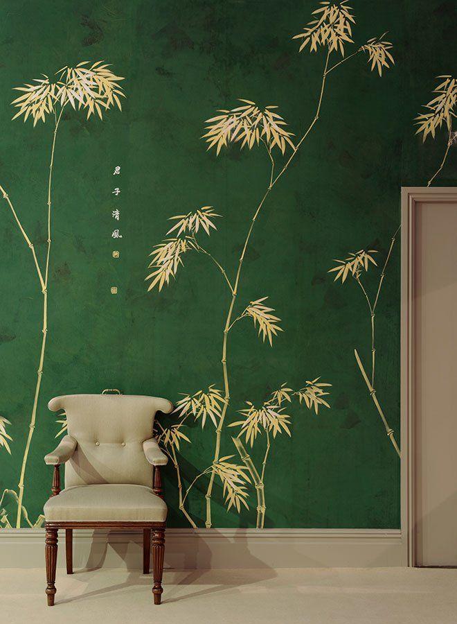 17 best ideas about bamboo wallpaper on pinterest for Bamboo mural wallpaper