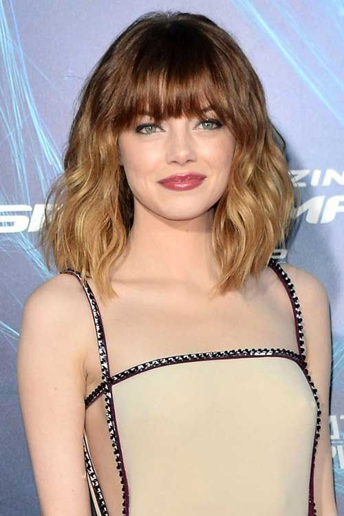 Good-looking wavy short hairstyles for women  #hairstyles #looking #short #women