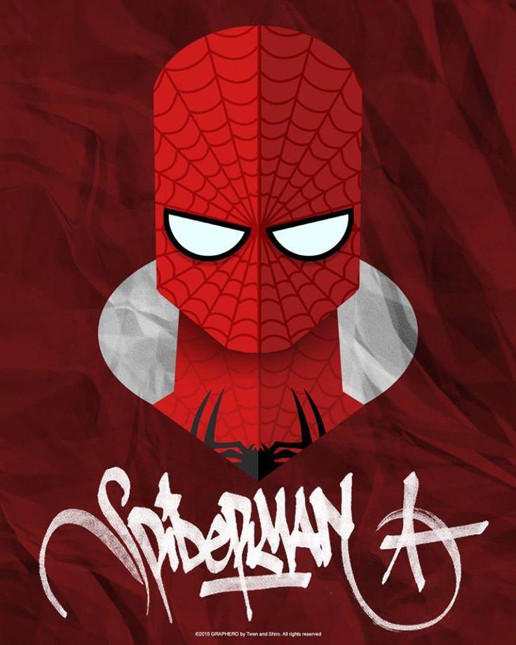 SUPERHEROES MINIMAL: SPIDERMAN MARVEL by Twen
