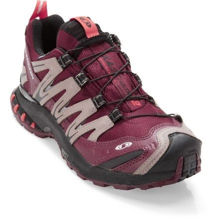 Salomon XA Pro 3D Ultra CS WP Trail-Running Shoes - Women's--My NEW hiking shoes--or everyday--can't decide!