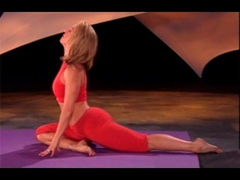 Denise Austin: Power Yoga Workout. For Weightloss. 22 minutes. Great for relaxing floor work.