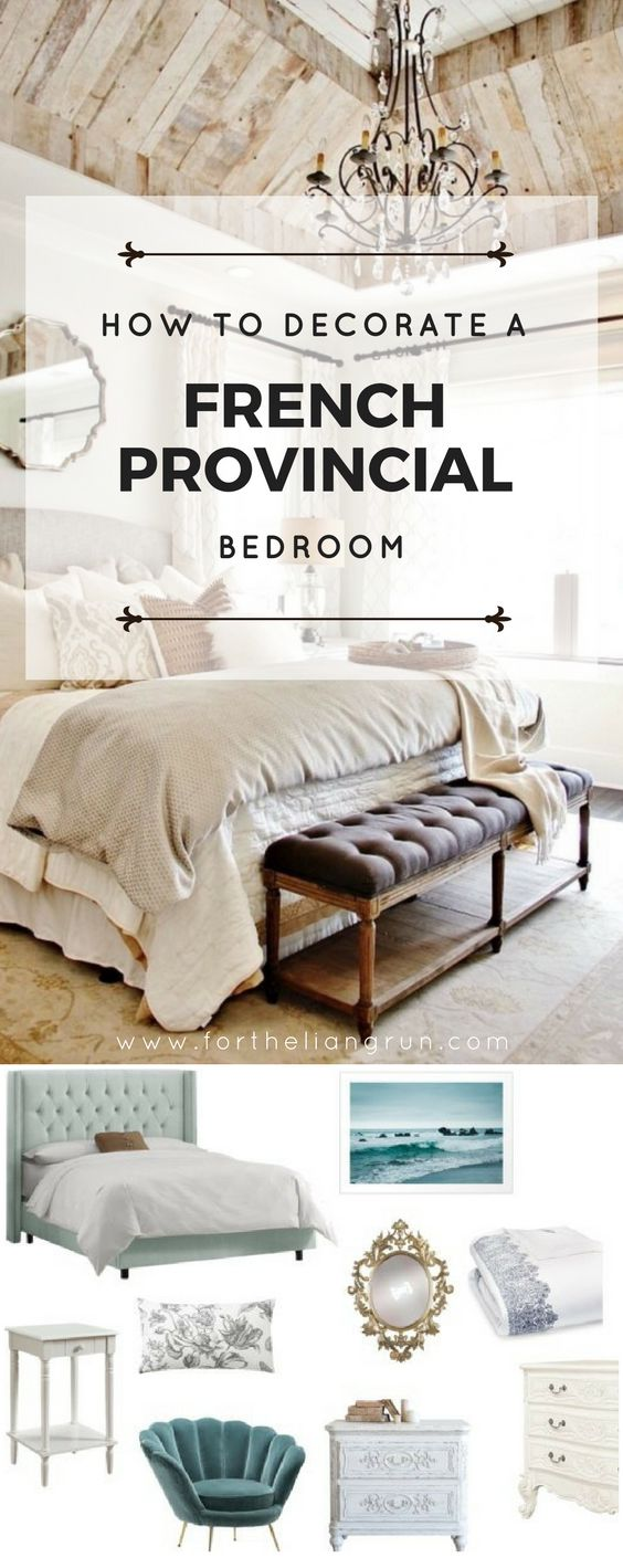 The 25+ best French provincial bedroom ideas on Pinterest | French ...