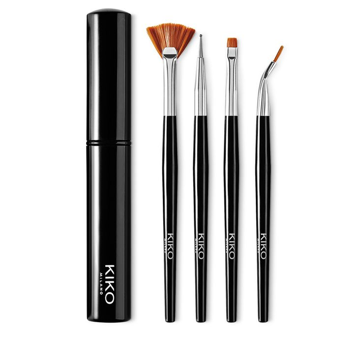 Kit professionnel pour nail art - Nail Art Brush Kit - KIKO Milano