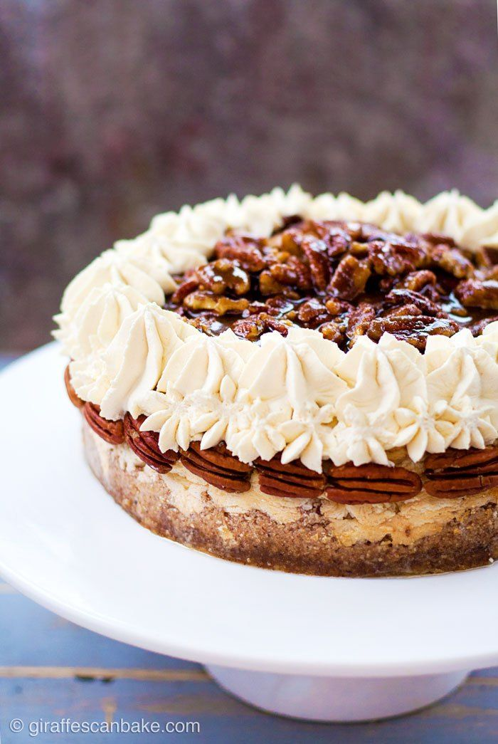 Pecan Pie Cheesecake Gluten Free Baked Vanilla
