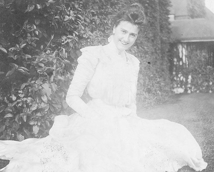 The story behind Edith Vanderbilt's arrival to Biltmore Estate in #Asheville, NC, and her grand legacy amongst the workers and families of #Biltmore. www.biltmore.com