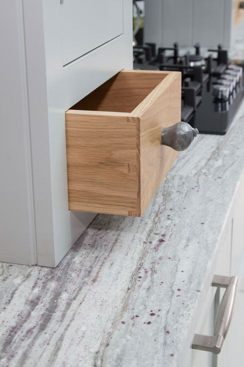 Handmade Kitchens   These Dovetail Drawer Boxes Can Be Handcrafted In Oak  Like This One And
