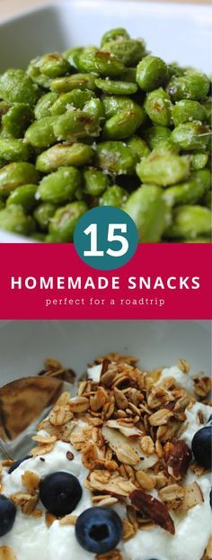 Snacks you should take on your next roadtrip.