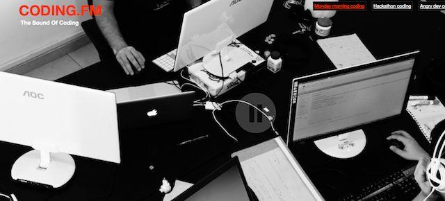 Escucha a gente programando para trabajar en Coding.fm | arturogoga