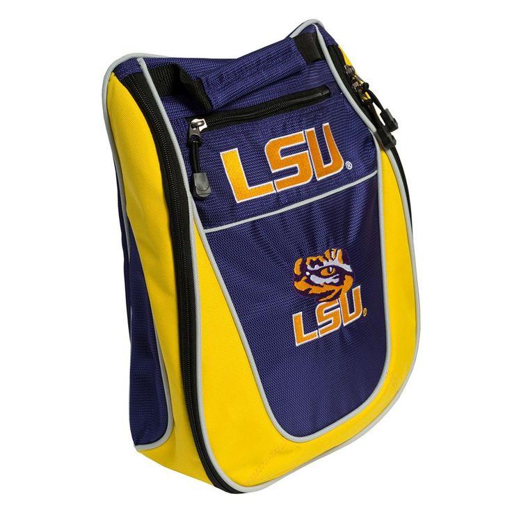 Team Golf LSU Tigers Golf Shoe Bag, Multicolor