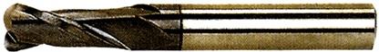 2F DYNA BALL END MILLS     UWC-Ultra fine  Helix Angle: 30degree  Tialn  HRC▶62