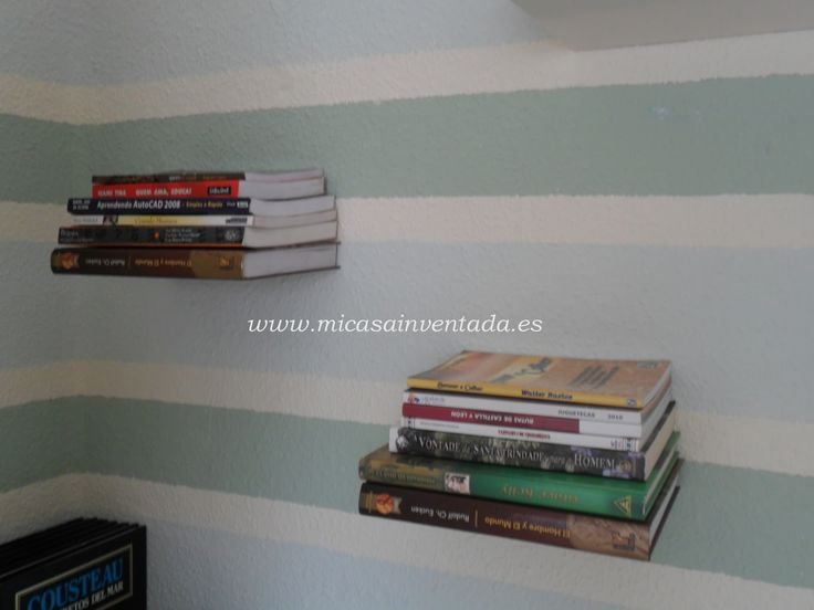 Libros flotantes decoraci n de interiores pinterest - Libros de decoracion de interiores ...