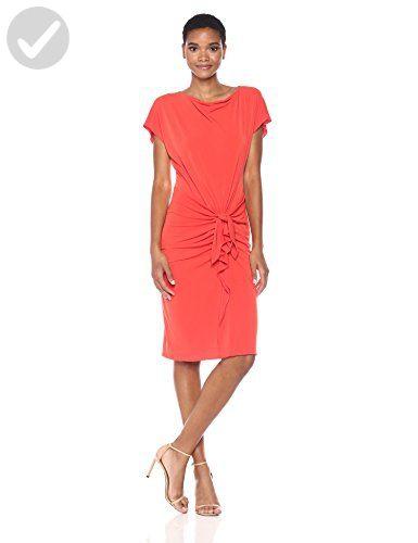 Catherine Catherine Malandrino Women's Char Dress, Poinciana, S - All about women (*Amazon Partner-Link)