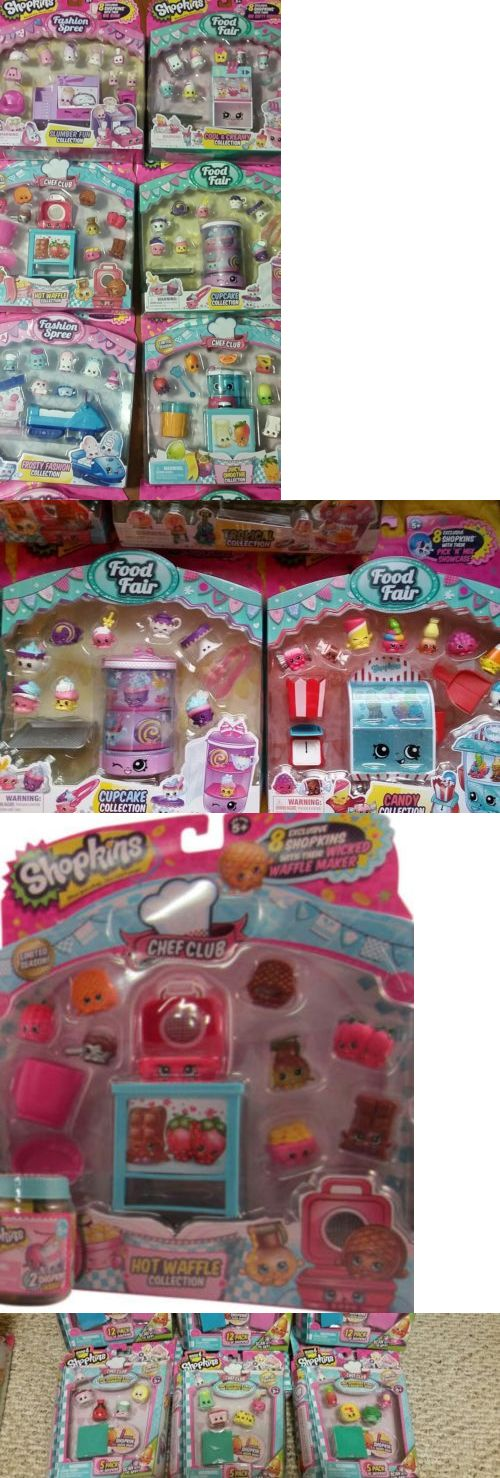 TV Movie and Character Toys 51031: 8 Pckgs Shopkins Lot Food Fair And Fashion Spree Bundle And 5Pk Chef Club 6 Retired -> BUY IT NOW ONLY: $53.99 on eBay!