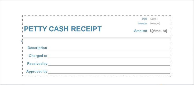 cash receipt template Excel Templates Pinterest Receipt template - cash receipt template microsoft word