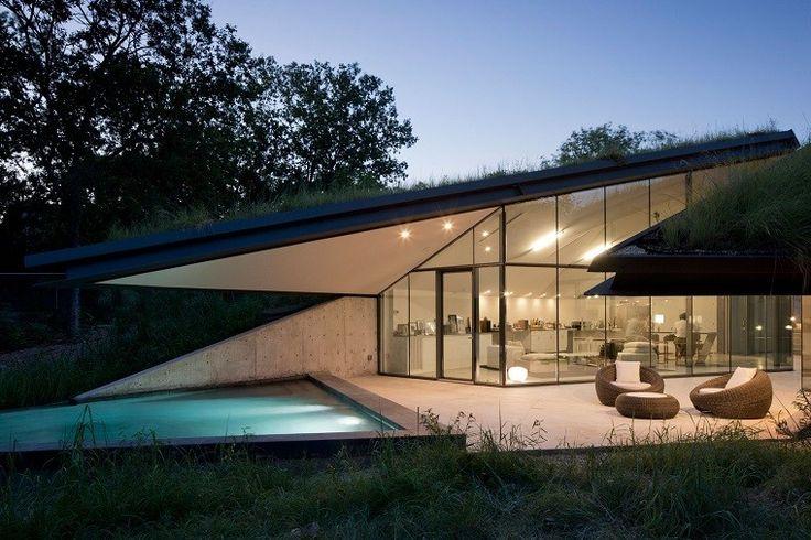 Casa de campo - el estilo contemporáneo más natural