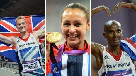 Greg Rutherford, Jessica Ennis, Mo Farah...most inspiration day in British sports history.
