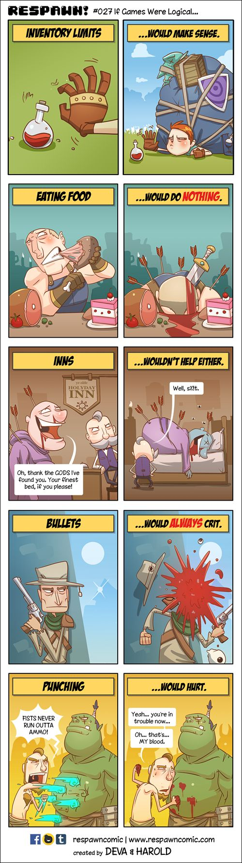 This Collection of Web Comics Really Explains What Its Like to Be a Gamer