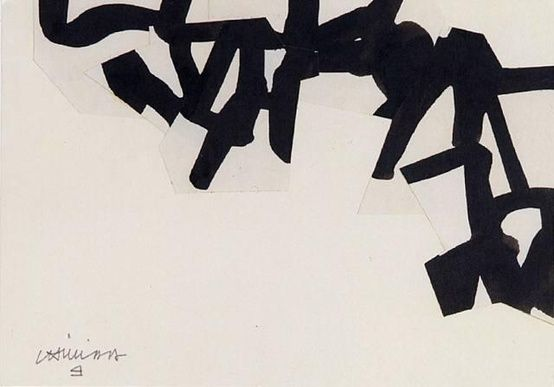 painting by eduardo chillida from the lovely blog: molly ruth