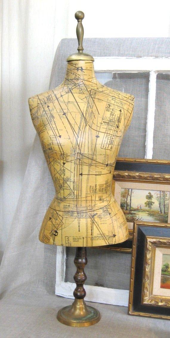17 best ideas about vintage mannequin on pinterest vintage dress forms dress form and french. Black Bedroom Furniture Sets. Home Design Ideas