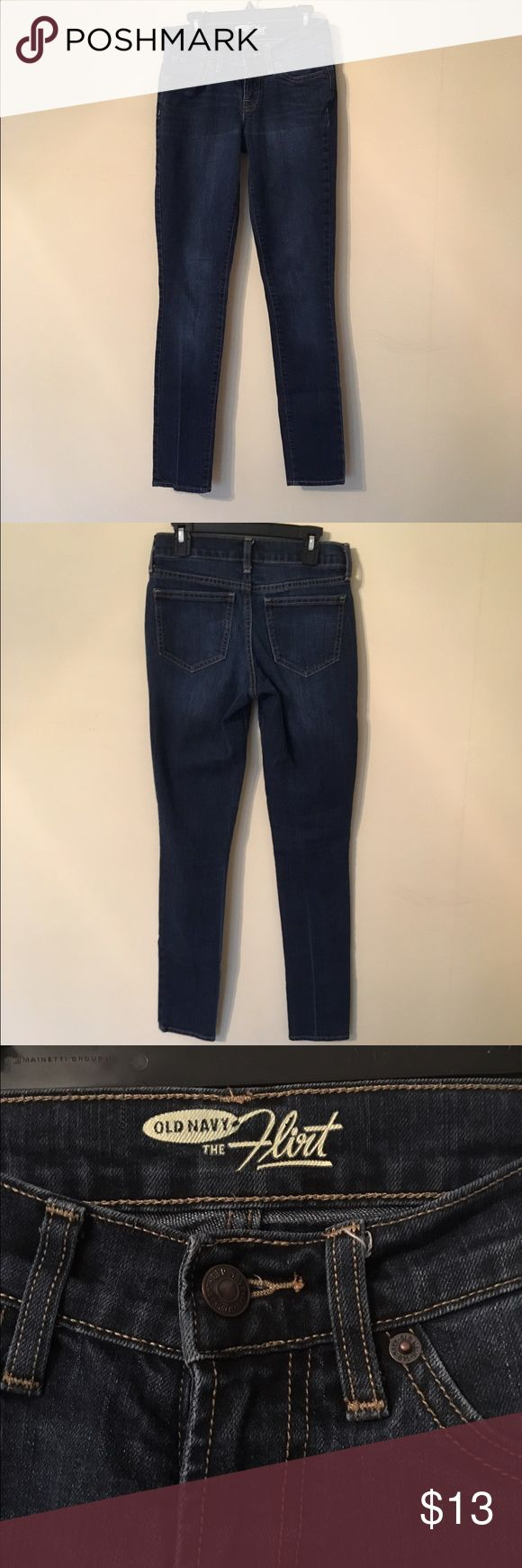 """SET of TWO PAIRS of Women's Jeans Size 00 Could be cut down into shorts for summer! First pair are Old Navy Brand in the style """"Flirt"""" dark-wash jeans. Second pair are Hollister dark-wash jeans. Both are Size 00 skinny legs, I am willing to sell them separately if asked! I also take offers! Hollister Jeans Skinny"""