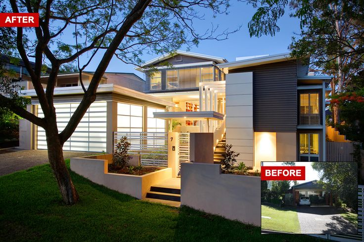 The owners of this 1960's post war home in Indooroopilly were seeking a modern and contemporary renovation to completely transform their rather ordinary looking home into a house with the wow factor and that would provide them with a substantial extension for more living, particularly indoor-outdoor living space.