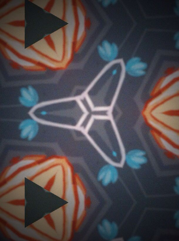 Abstracción fractal búho