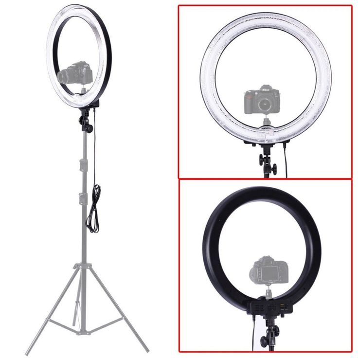 Home Photo Studio Photo Shop Focus Picture Light Dimmer Ring Fluorescent Flash  #Neewer