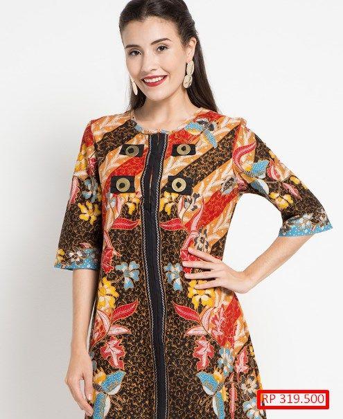 25 Model Baju Batik Wanita Pesta TERBARU  Cantik Dan Anggun Model Baju.  Visit. March 2019 ddcf78ff3d