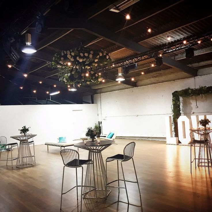 Transform this unique space to suit your wedding theme! We love the simplicity of this venue. For more information, check out our website.