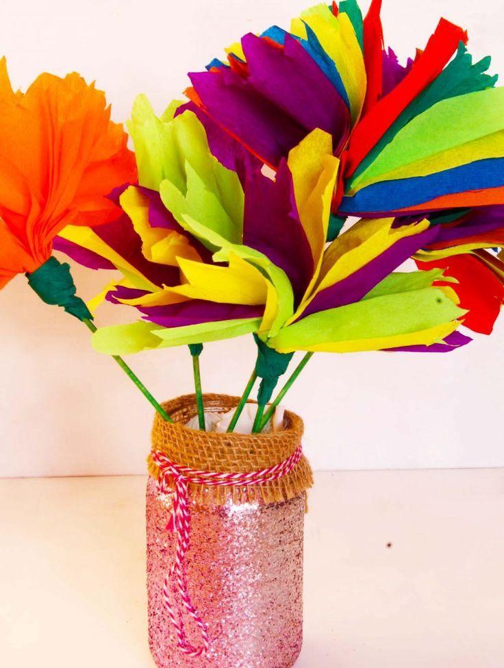 Tissue Paper Flowers Tissue Paper Flowers Make A Cute Addition