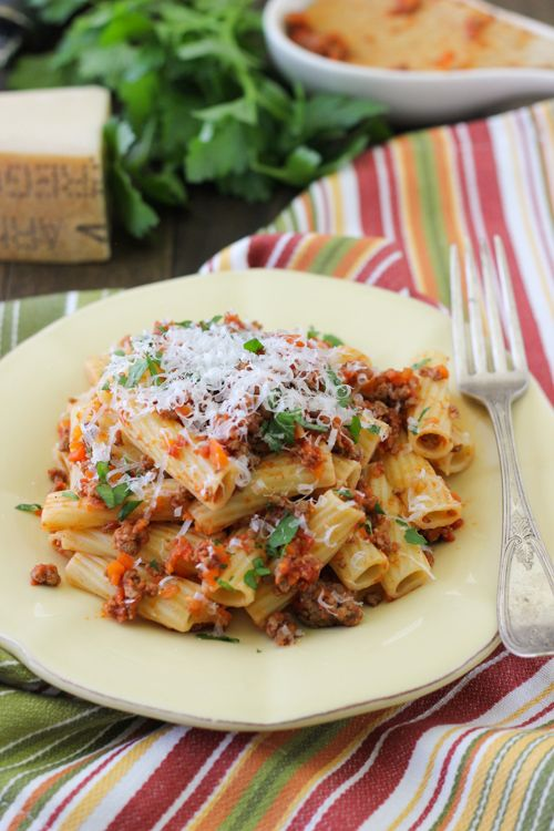 Quick and Simple Meat Sauce For Pasta