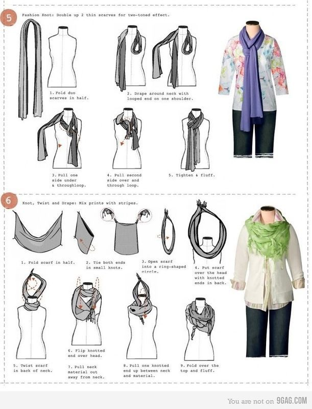 I like this, but Florida is too darn hot to wear a scarf very often...