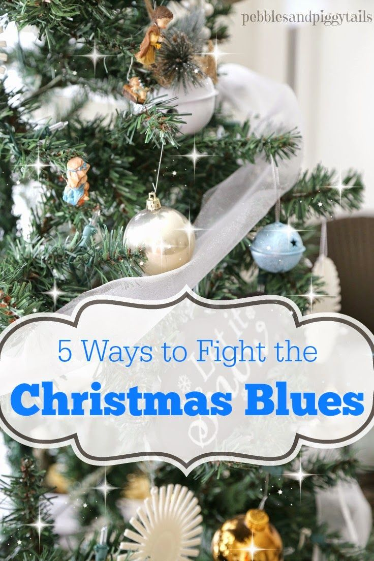 Fighting the Christmas Blues.  When troubles have you feeling down, here's how to cheer up during the holidays.  Five simple ways to fight Christmas depression.  Feel happy again.