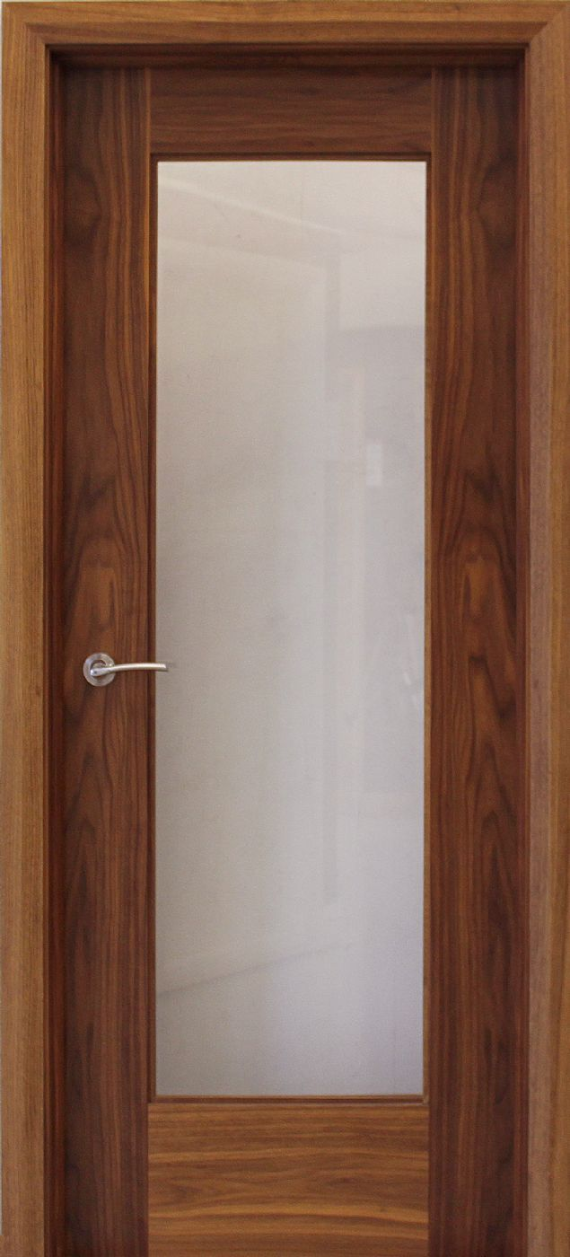Shaker 1 Lite Walnut Door (40mm) | Internal Doors | Walnut Doors - door : tudor doors northolt - pezcame.com